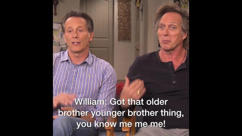 Steven Weber And William Fichtner Talk Mom 100th Episode