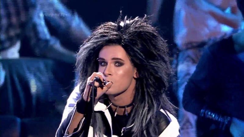 Mateusz Banasiuk jako Bill Kaulitz/Tokio Hotel - Twoja Twarz Brzmi Znajomo