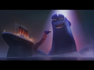 Монстры на каникулах 3 море зовёт / hotel transylvania 3 summer vacation песня кракена