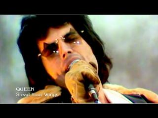 Queen «Spread Your Wings» (1978, 60 fps)