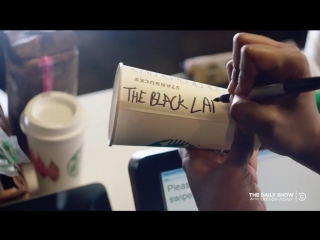'the daily show' leaks starbucks' training video and it's hilarious