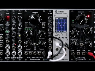 Erica Synths Black Wavetable VCO demo
