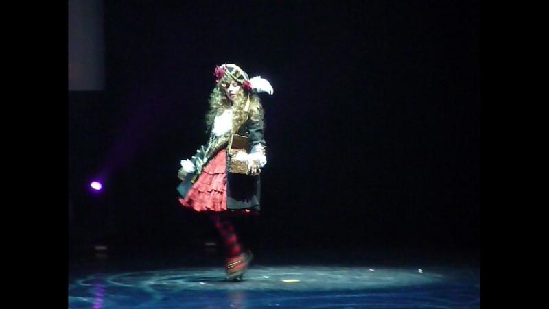Хиган 2016 Дефиле лолит 4 Daryia cupcake Брест Беларусь pirate lolita