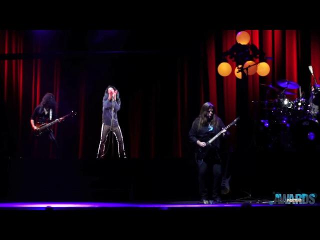 Ronnie James Dio Hologram Rocks Pollstar Awards