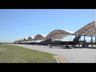 Lockheed Martin F-22 Raptor  fighter aircraft Air Base,United States Air Force  AFB, Virginia