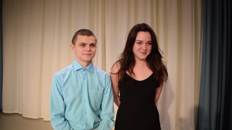 Павел Глебов и Диана Дяткинская