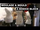 Moulage draped bodice block by Shingo Sato
