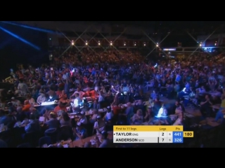 Phil Taylor vs Gary Anderson (Champions League of Darts 2017 / Semi Final)