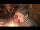 Даниил Соколенко отметили День рождения с мамой и папой