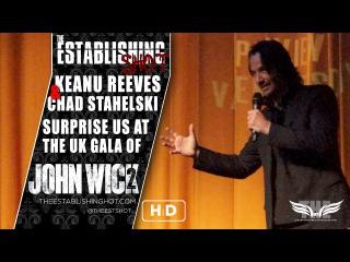 The Establishing Shot: KEANU REEVES SURPRISES US AT A SCREENING OF JOHN WICK: CHAPTER 2 - 17 FEB 17