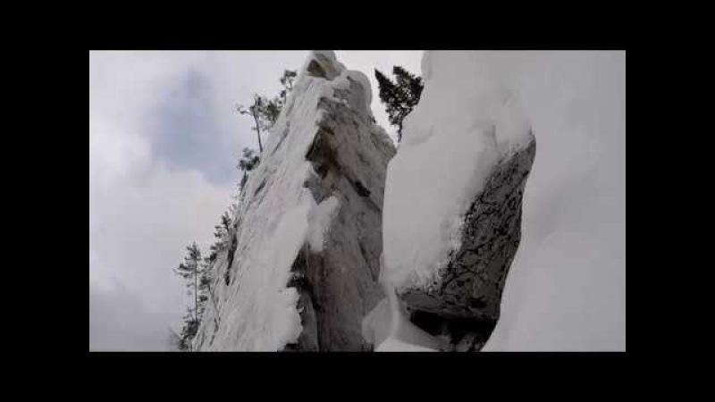 скалы Айгир часть 2. Пыхтел, старался, на гору поднялся!