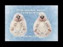Кукла котик морской из капрона магнит Dolls from pantyhose sea cat
