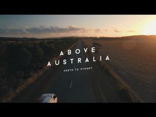 Над далями Австралии - Путь из Перта в Сидней / Above Australia - Perth to Sydney