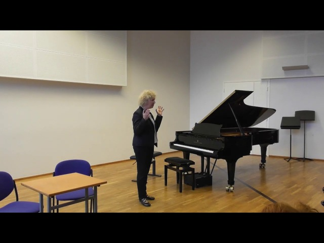 10 11 2017 Mira Marchenko's master classes M Belokopytova M Abgaryan EAMT Tallinn Estonia