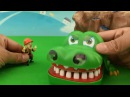 Learn color Boonie Bears for kids Transformers Toys Learn color crocodile