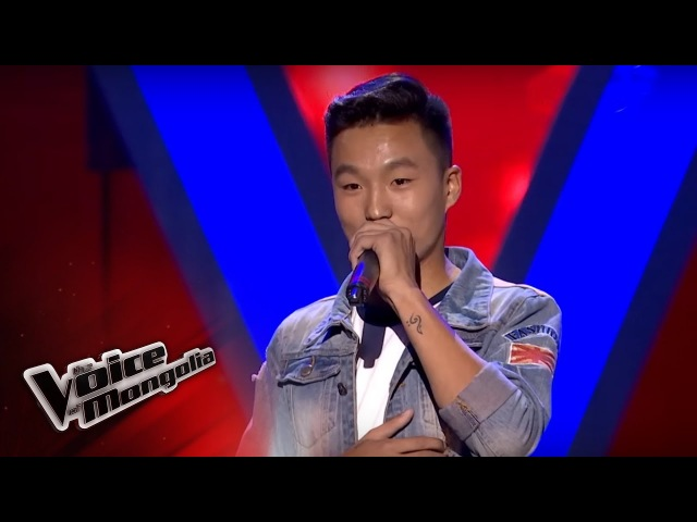 Munkh Erdene I Sixteen tons Blind Audition The Voice of Mongolia 2018