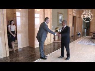 Рустам Минниханов встретился с заместителем президента– председателя правлен ...
