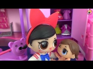 Мультик Куклы ЛОЛ. Сестрички играют в прятки