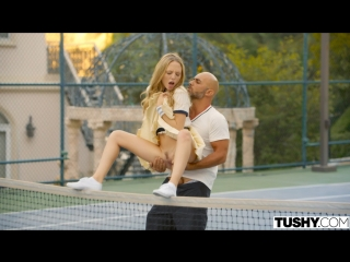 Aubrey star tennis student gets anal lesson [all sex, hardcore, blowjob, anal]