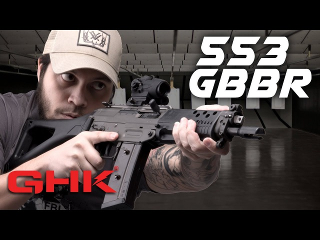 SNEAK PREVIEW GHK 553 GBBR RedWolf Airsoft RWTV