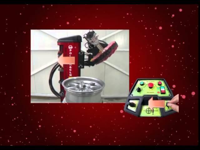 полировочный станок для литых дисков ATEK RIM POLİSH CLN