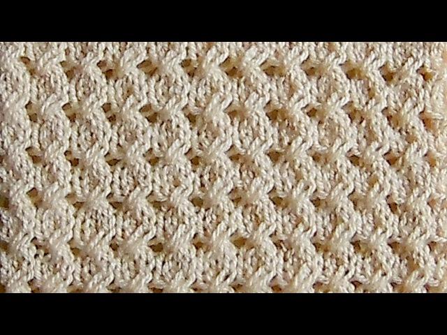 Рельефный узор косички Вязание спицами Видеоурок 241