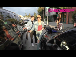 Romee strijd steps out for a double date lunch in between victorias secret