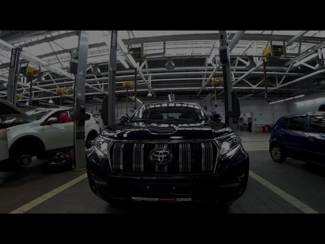 Тойота Центр Люберцы LC150 шиномонтаж