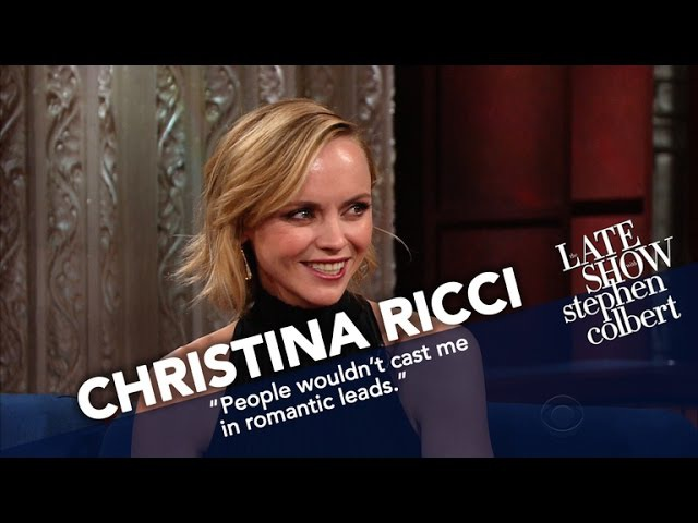 For Christina Ricci Talk Shows Are Literally Child's Play