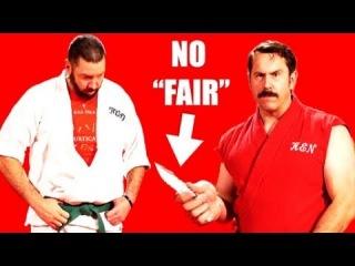 "Master Ken: Knife Fight is Never ""Fair Fight"""