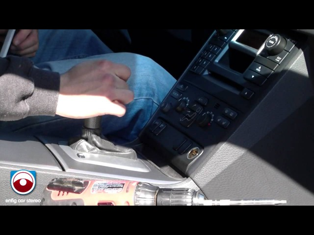 Volvo XC 90 Ipod Aux USB Installation Dension GW51MO2 Part 1 of 2