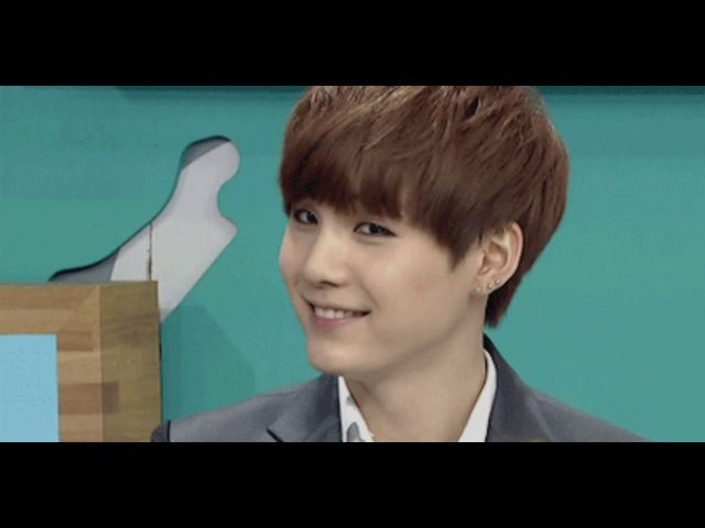 He really is my baby Suga Min Yoon Gi 민윤기 슈가 BTS K POP