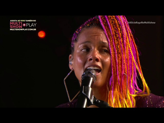Rock in Rio 2017 Alicia Keys Show Completo Live from Brazil HD