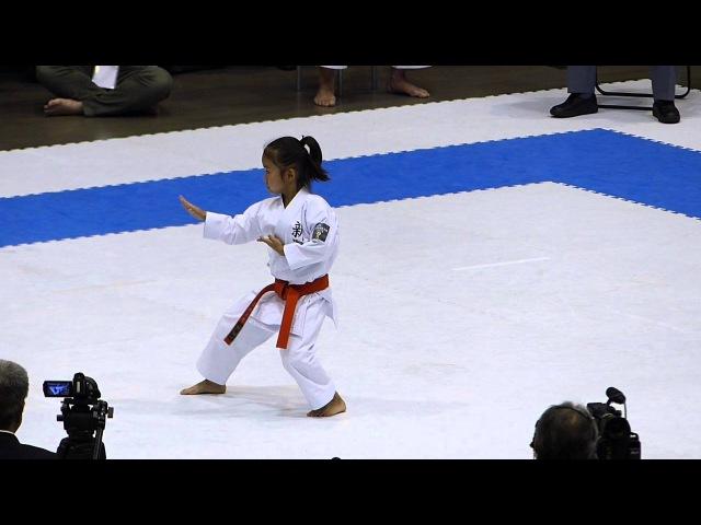 平成27年 第15回全日本少年少女空手道選手権大会・3年女子形  2777