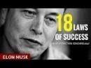 Elon Musk: 18 Laws of Success (Motivational Video) topnotchenglish