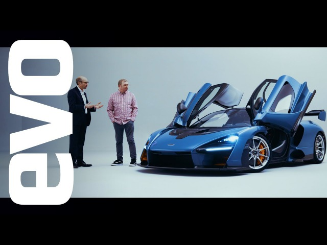 McLaren Senna preview under the skin of the 789bhp track car evo UNWRAPPED