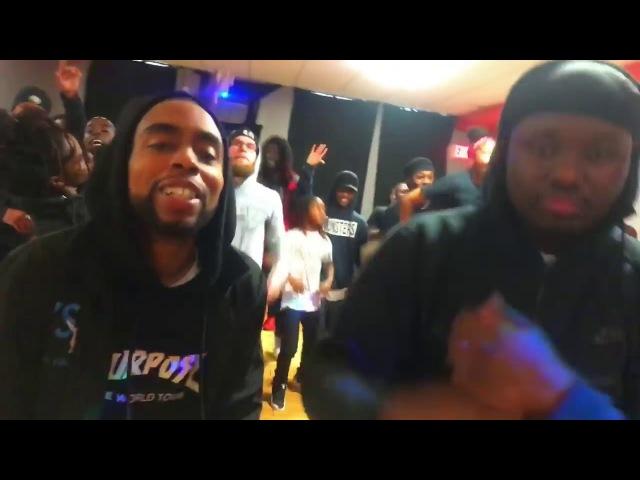Baltimore Club Meets Jersey Club Dance Cypher Part 1 TSU x Teamlilman