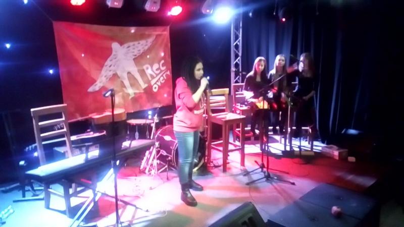 Виступ на презентації книги Міхи Невідомського Recovery в клубі міста Києва Бочка