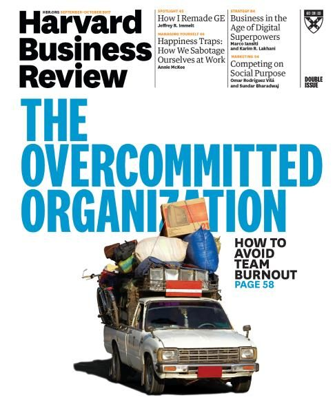 Harvard Business Review USA SeptemberOctober 2017 FreeMags