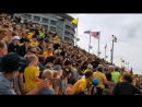 Hawkeye Fans Wave to UI Stead Family Childrens Hospital