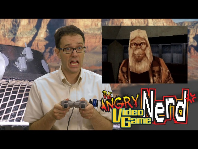 Planet of the Apes (Sony Playstation) - Angry Video Game Nerd (AVGN)