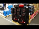 LG CM9940 playing at MAX VOLUME 2x15 Subwoofers