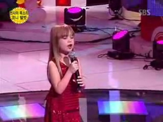 Connie Talbot - I Will Always Love You - Live ))) такая лапочка!!!!!)))