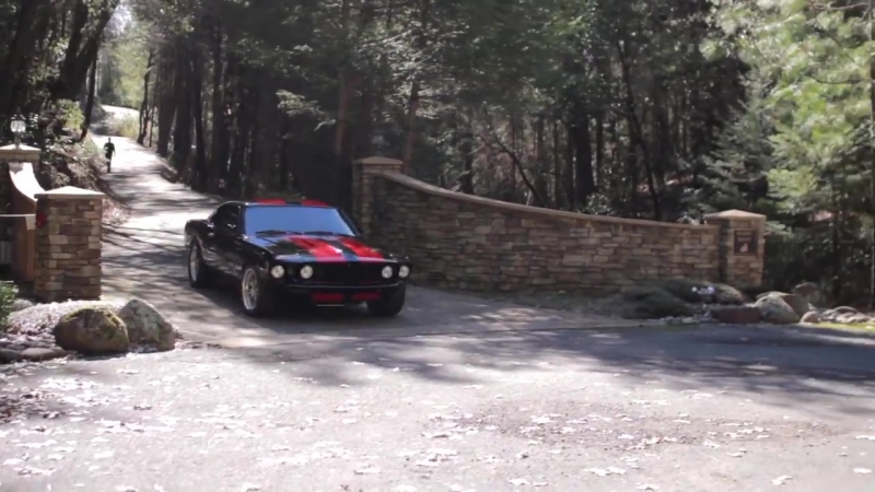 Evil 69 Mustang Mach 1 - Dark Horse Customs (DHC) - New 351 Series Car - CHECK I