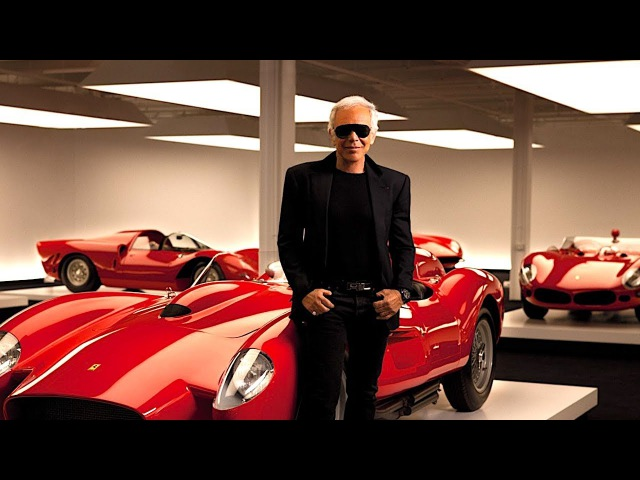 Ralph Lauren Amazing $350 Million Dream Garage Video Ralph Lauren Interview Car Collection 2017