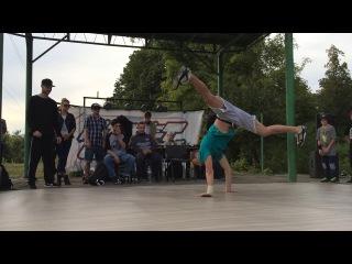 Bboy PacMan - судейский выход   Битва Школ   г.Харьков 2017