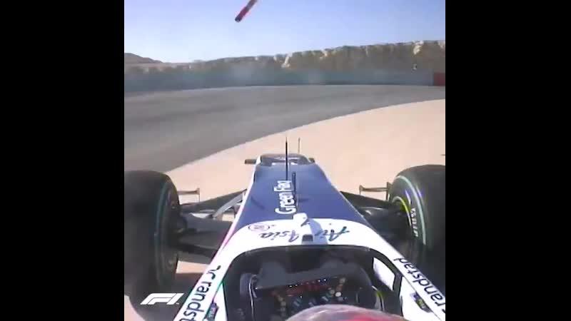 Bahrain 2010 Hulkenberg's Sakhir spin