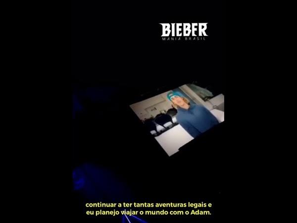 Justin Bieber envia v deo para o evento de caridade da Pencils Of Promise