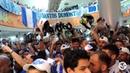 Recepção da torcida após subida para a Serie A | TV CSA