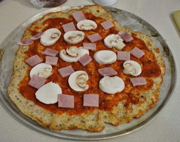 Низкокалорийная пицца без теста, изображение №6